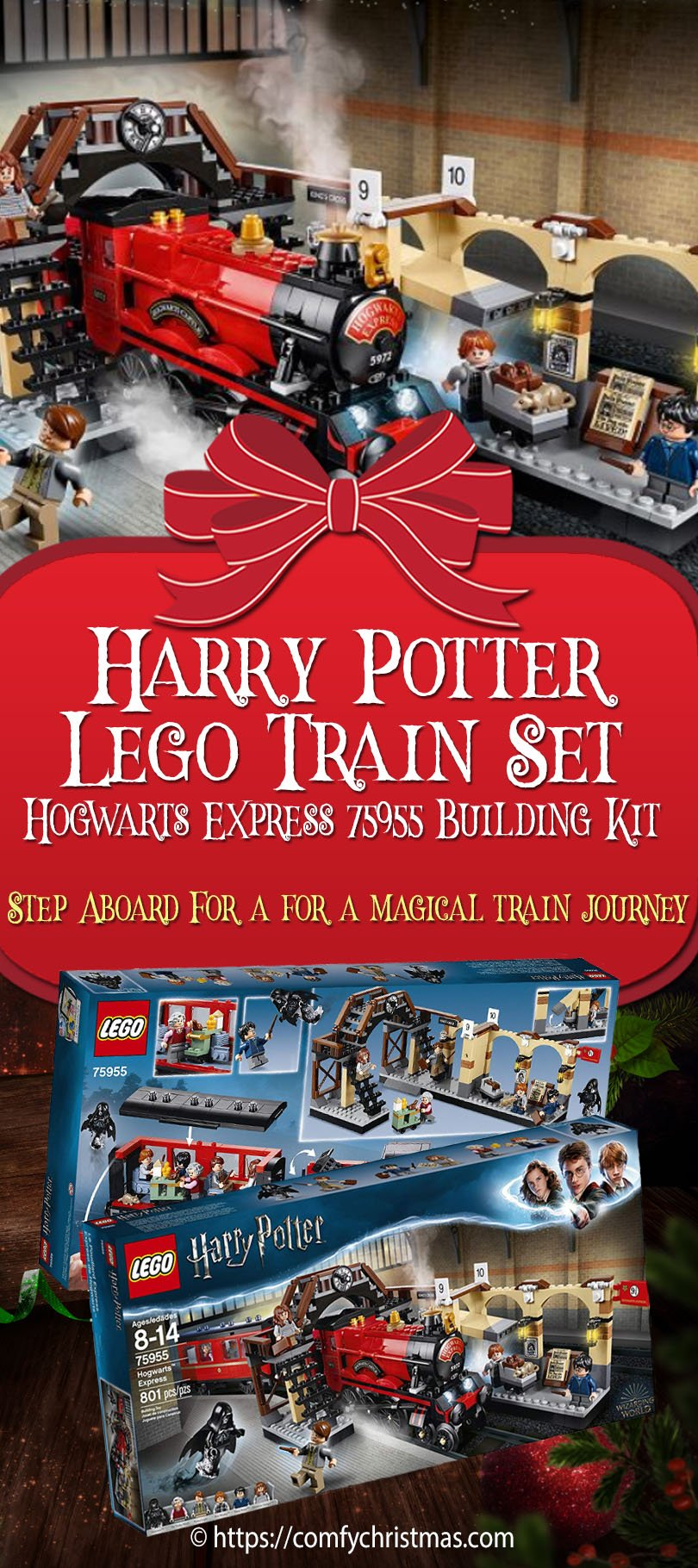Harry Potter LEGO Train Set