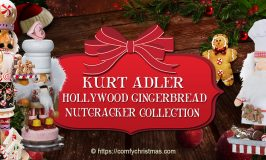 Kurt Adler Hollywood Gingerbread Nutcracker