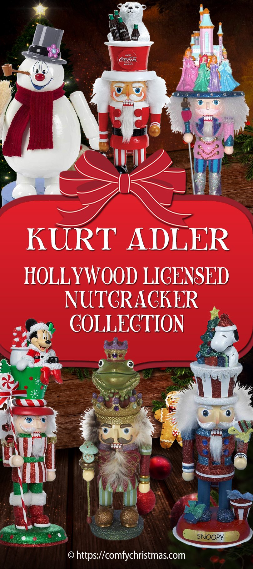 Kurt Adler Hollywood Licensed Nutcrackers