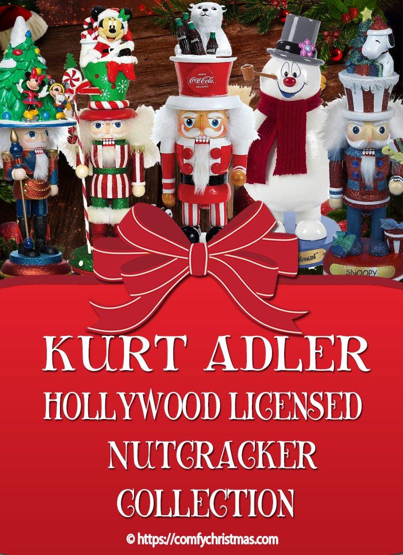 Kurt Adler Hollywood Nutcrackers – Licensed Nutcrackers