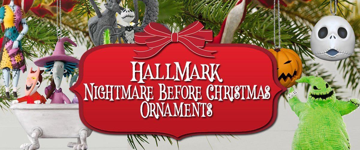 Nightmare Before Christmas Hallmark Ornaments