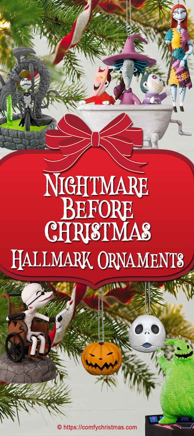 Nightmare Before Christmas Hallmark Ornaments • Comfy Christmas