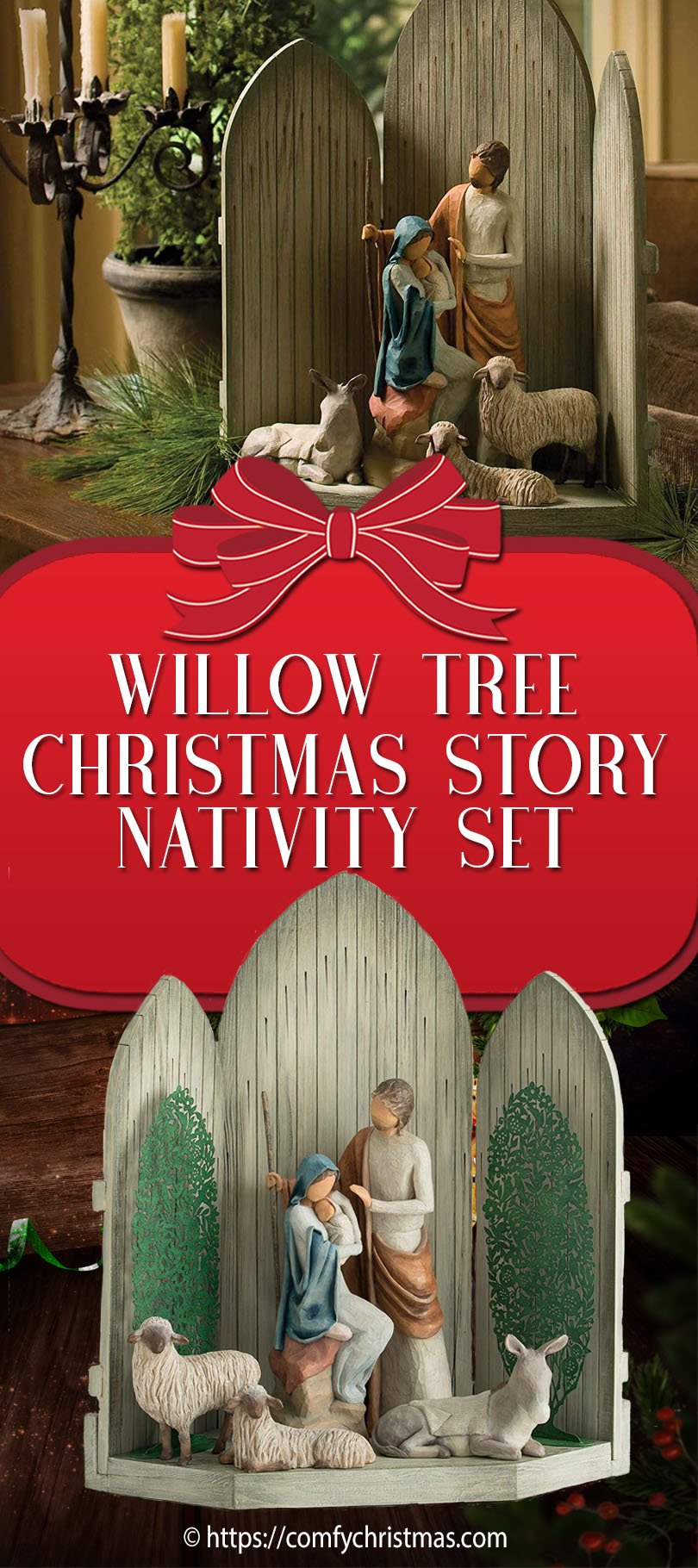 Willow Tree Christmas Story Nativity Set