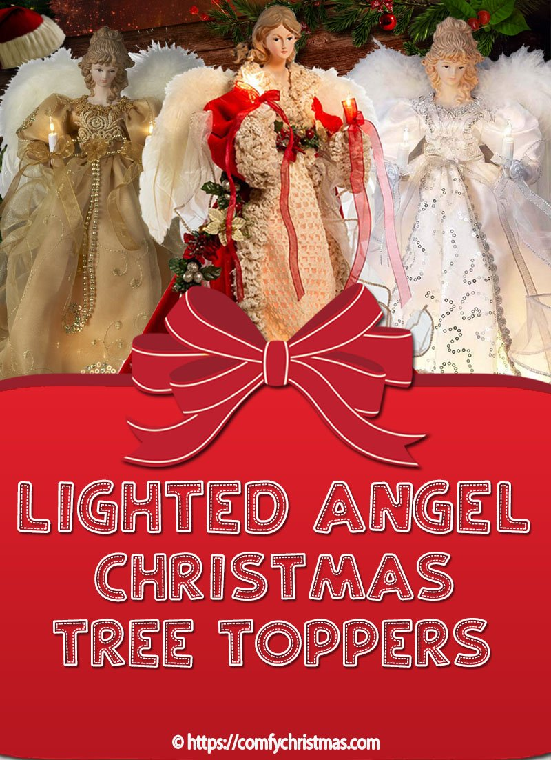 Lighted Angel Christmas Tree Toppers
