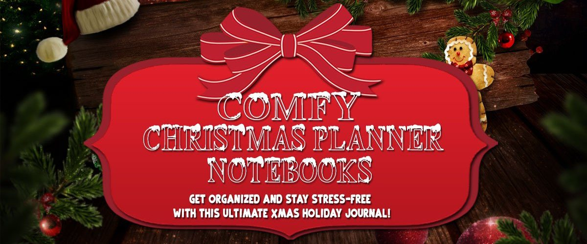 Comfy Christmas Planner Notebook