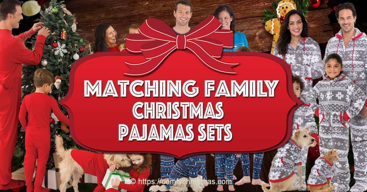Family Christmas Pajamas With Dog.Matching Family Christmas Pajamas Sets Comfy Christmas