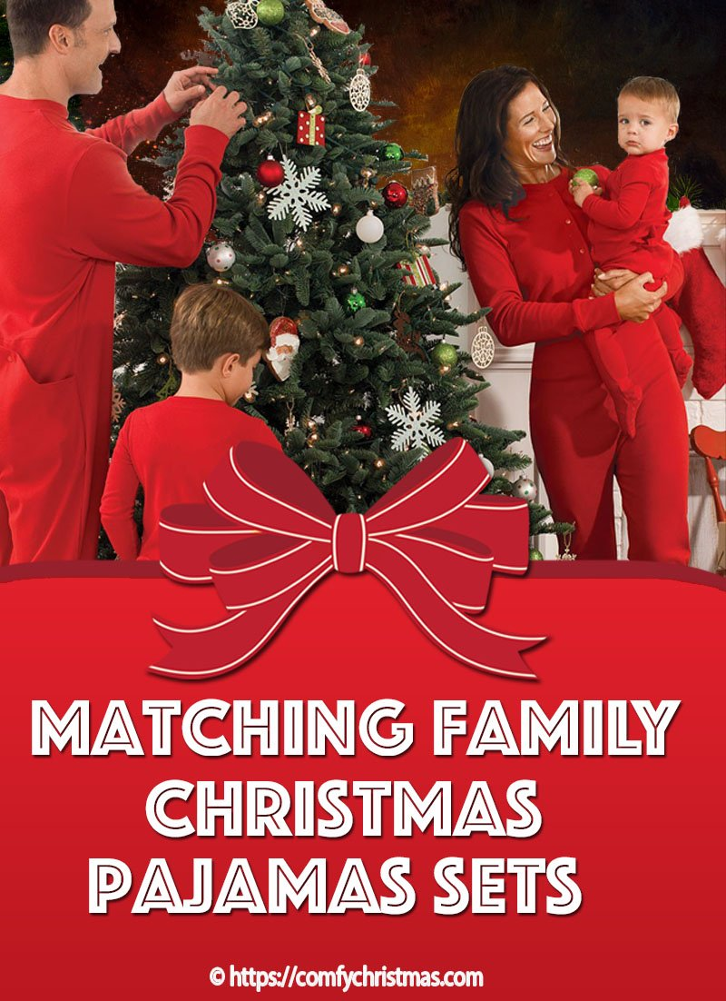 Matching Family Christmas Pajamas Sets