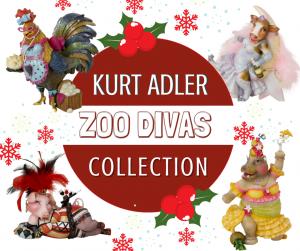 Kurt Adler Divas Collection
